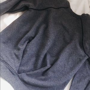 Lululemon Size 8 Sweatshirt Navy